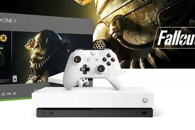 微軟 XBOXONE XBOX ONE X 1T 1TB 主機 天蠍座 4K 同捆 異塵餘生76 白色 公司貨 台中