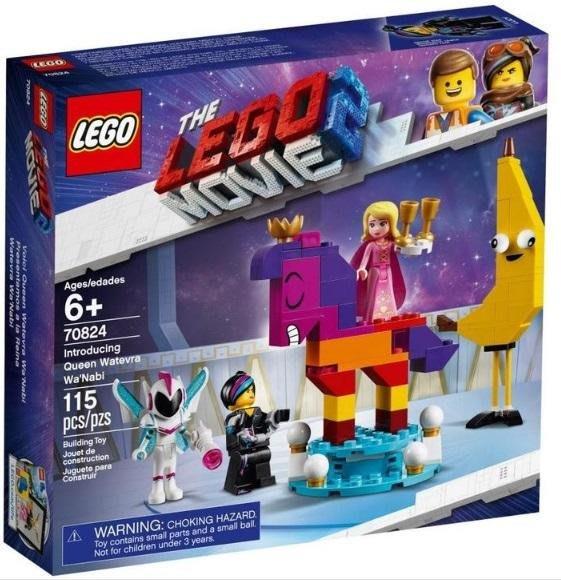 【樂GO】LEGO 樂高 LEGO MOVIE 系列 Introducing Queen Watevra Wa 原廠正版