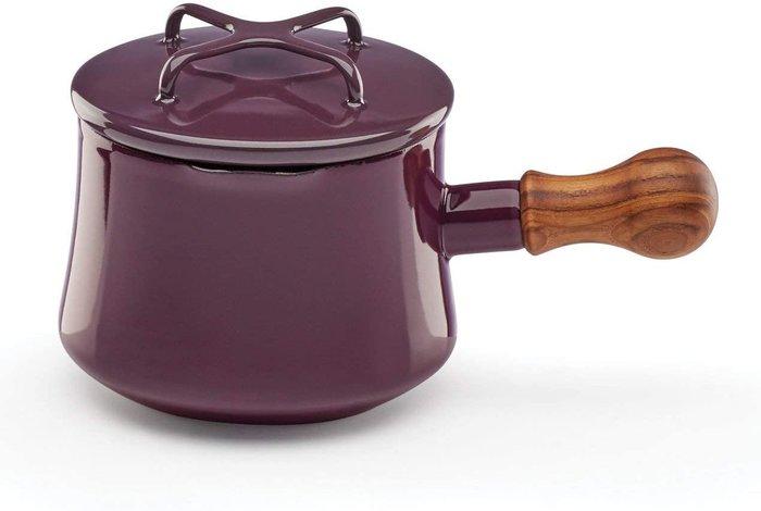 北歐丹麥DANSK 1100ml 含蓋 木柄 梅紅色 2020 新色 限量商品 琺瑯鍋 手鍋 醬汁鍋 奶油鍋 湯鍋