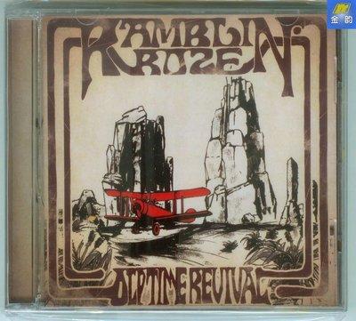 Ramblin' Roze樂隊 Old Time Revival EP CD 硬搖滾 簽名版