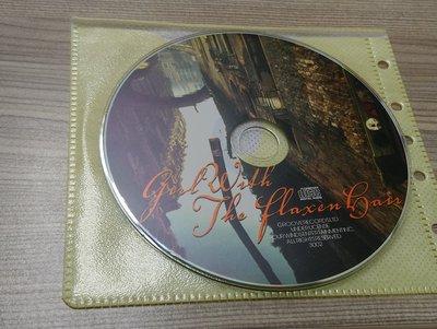 【AUG2-19】《Girl Relish – The flaxen hair /無cd盒/裸片裝》CD可能有輕微刮傷