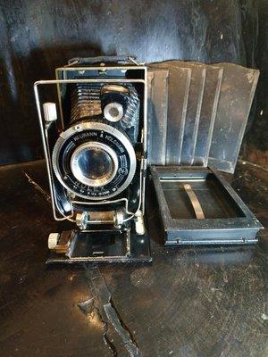 Neumann Heilemann古董玻璃底片相機