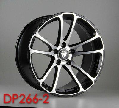 ╭☆輪鋪☆╯全新 (DP266) 19吋5孔120 BMW F10/F20/F30/E46/E90 旋壓鍛造鋁圈-黑車面