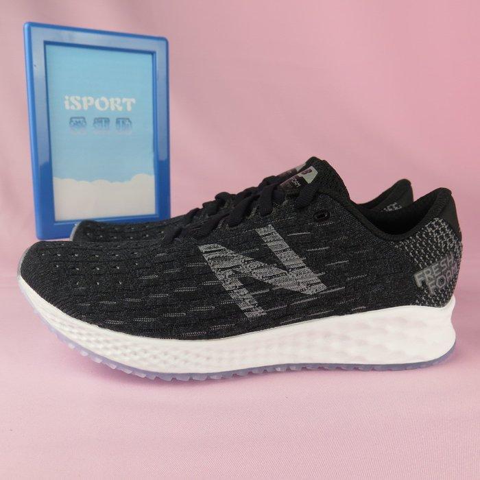 【iSport愛運動】New Balance 輕量 慢跑鞋 FRESH FOAM 公司貨 WZANPBK 女款 黑