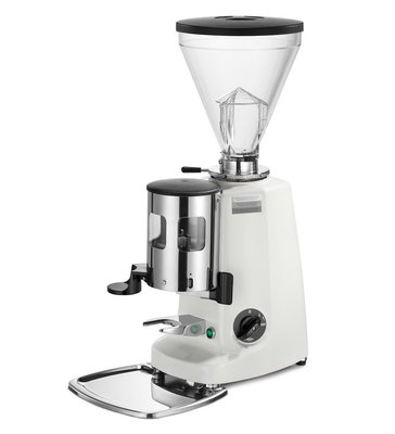 【咖啡唯主】義大利原裝進口 MAZZER SUPER JOLLY 手撥磨豆機~白色~缺貨
