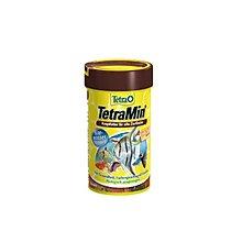 魚樂世界水族專賣店# 型號:T102 德國 Tetra Min 熱帶魚薄片飼料 100ml 孔雀魚 燈魚