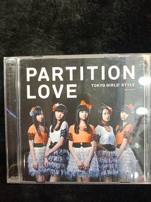 TOKYO GIRLS STYLE - PARTITION LOVE - 201年日本版 - 碟片近新 - 151元起標