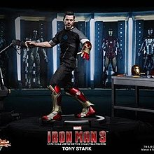 全新連啡盒 HOTTOYS hot toys MMS 191 Ironman 3
