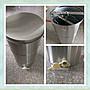 【不銹鋼搖蜜機+不鏽鋼流蜜頭】 304不銹鋼搖蜜桶 兩片式  搖密機 搖密桶 養蜂工具 蜜蜂 分離器