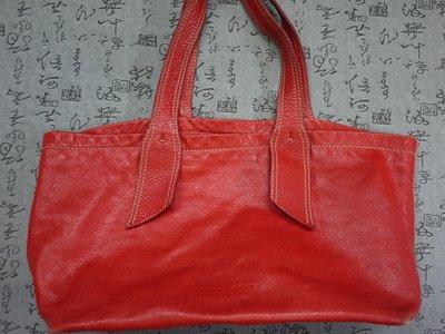 義大利製 MIU MIU  真皮手提包  保證真品