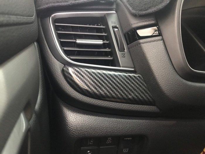 九七八汽車精品 本田 HONDA CRV5 CRV-5 水轉 卡夢 中控下飾條 密合度優 可防刮傷原車飾板 五代 !