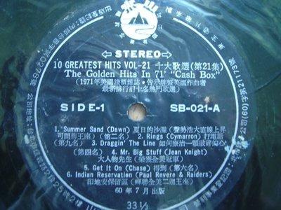 1971年美國錢櫃雜誌 英國作曲者前十大選歌第21集~裸片 黑膠唱片