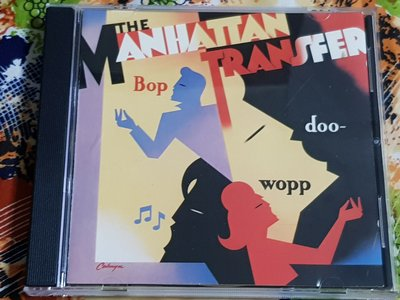 R西洋團(二手CD)THE MANHATTAN TRANSFER BOP DOO-WOPP