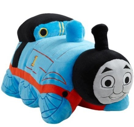 ㊣USA Gossip㊣ Thomas The Tank Engine - Blue/Red 18吋 枕頭玩偶