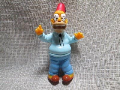 早期 BURGER KING 漢堡王玩具 2001 辛普森家庭 The Simpsons 爺爺 A