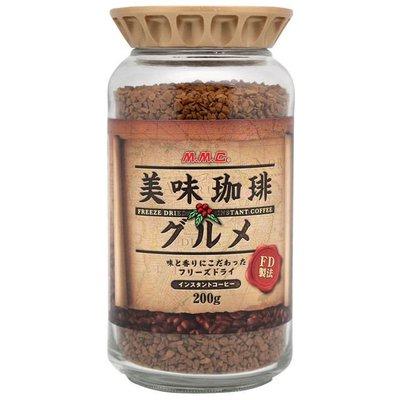 #悠西將# {現貨} 日本三本 MMC 美味咖啡 即溶咖啡 400次 日本咖啡 沖泡 咖啡粉