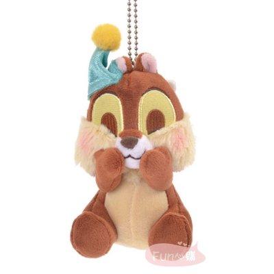 日本迪士尼 奇奇 別針吊飾 絨毛娃娃。現貨【Fun心購】