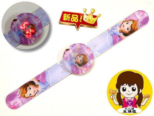 【 金王記拍寶網 】B017  LED果凍觸控錶 兒童錶 流行可愛  小公主蘇菲亞 / 卡通 / 男婊 / 女錶
