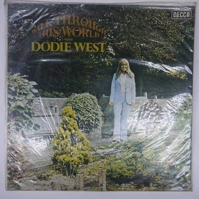 合友唱片 WALK THROUGH THIS WORLD with DODIE WEST 1976 黑膠唱片 面交自取