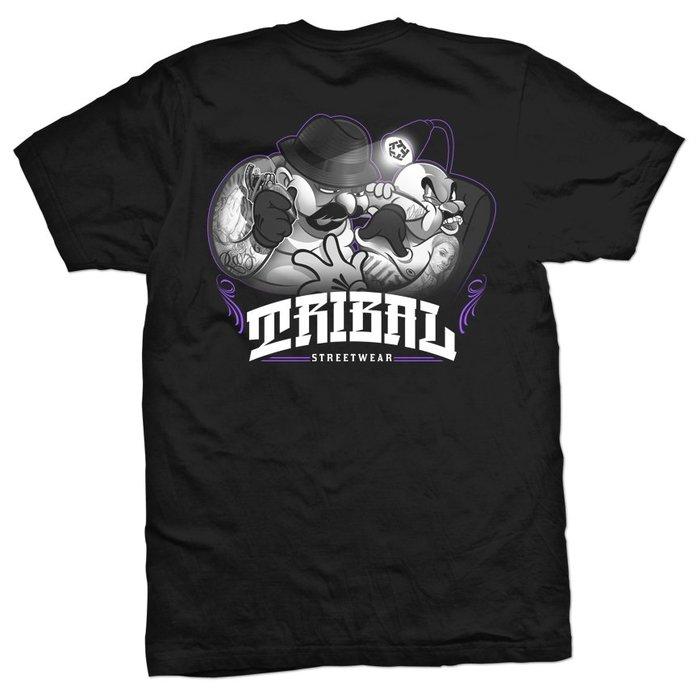 【DOOBIEST】- TRIBAL ORIGI TATTOO – MEN'S T SHIRT (黑)