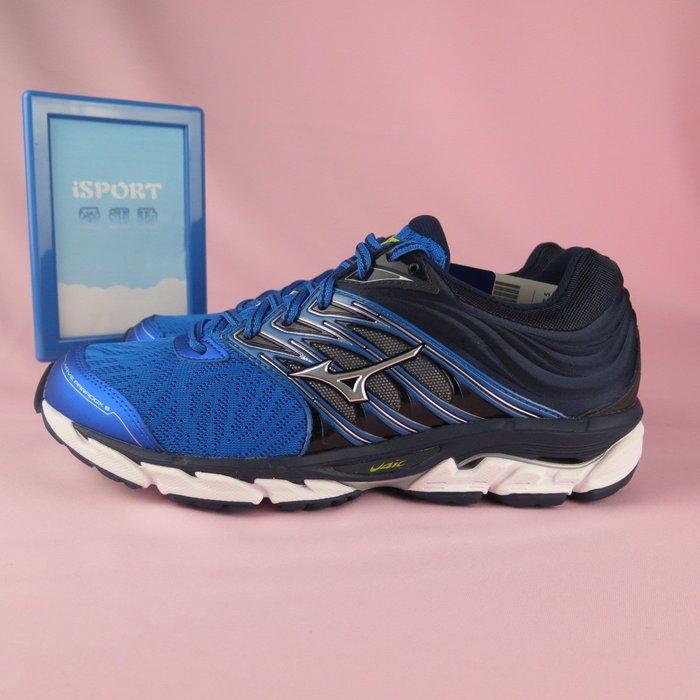 【iSport愛運動】Mizuno WAVE PARADOX 5 慢跑鞋 公司貨 J1GC184004 男款 黑x藍