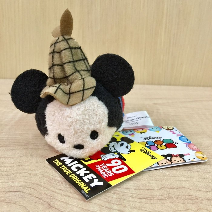 迪士尼 tsum 偵探 米奇 90周年 Mickey Film Collection