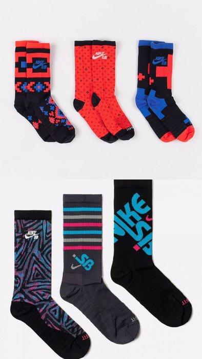 【G CORNER】Nike SB 運動長襪 襪子 穿搭 一組三雙 男女 SK0040-901 SK0214-901