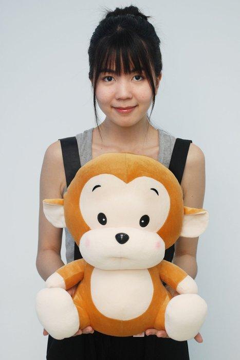 娃娃夢幻樂園~超可愛猴子娃娃~猴年娃娃~猴子玩偶~高40公分~生日情人禮物~高雄可自取
