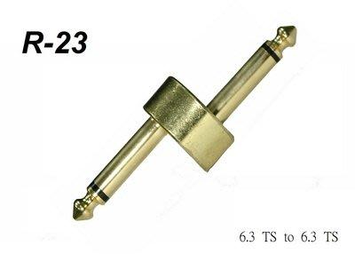 ☆唐尼樂器︵☆台製 Stander R-23 Z型 單顆效果器專用超低訊號衰減接頭短導線(適用所有效果器)