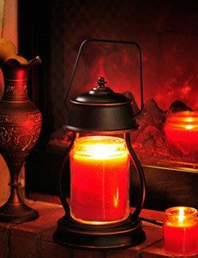 ღ萊姆森林【Candle Warmers融蠟燈+皮革提杯香氛蠟燭 組合 古銅色】預購【FG18060003】