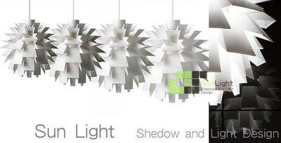 【SUN LIGHT 日光燈坊】現代北歐設計師norm 69 松果吊燈45CM,另橢圓PH5球水晶松果海浪IQ