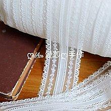 『ღIAsa 愛莎ღ手作雜貨』花邊輔料娃衣輔料黑色本白色小花蕾絲花邊寬5cm