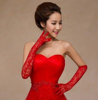 ♀兔比時尚♂ 韓式長款花紋 手套 手背套 新娘 cosplay 包頭 結婚 迎娶 訂婚 晚宴 新秘 造型 外拍 白紗