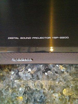 Yamaha YSP-2200環繞喇叭加重低音