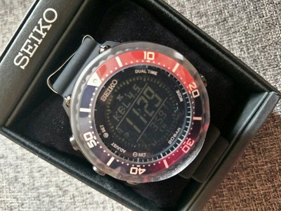 SEIKO PROSPEX LOWERCASE SBEP003 精工百事可樂圈電子鮪魚罐頭錶  全盒裝 現貨在台不用等