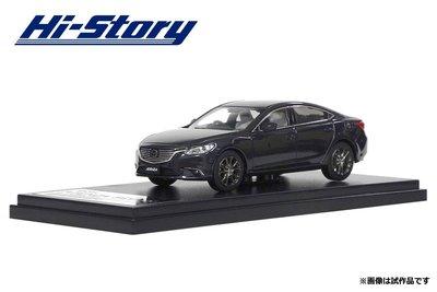 ~花男宅急店~~ ~ Hi Story Mazda 6 SEDAN 1:43 御鉄黑 汽車模型 1 43