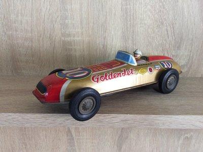 早期日本鐵皮玩具賽車