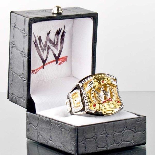 ☆阿Su倉庫☆WWE摔角 WWE Championship Spinner Ring WWE旋轉冠軍限量戒指 熱賣特價中
