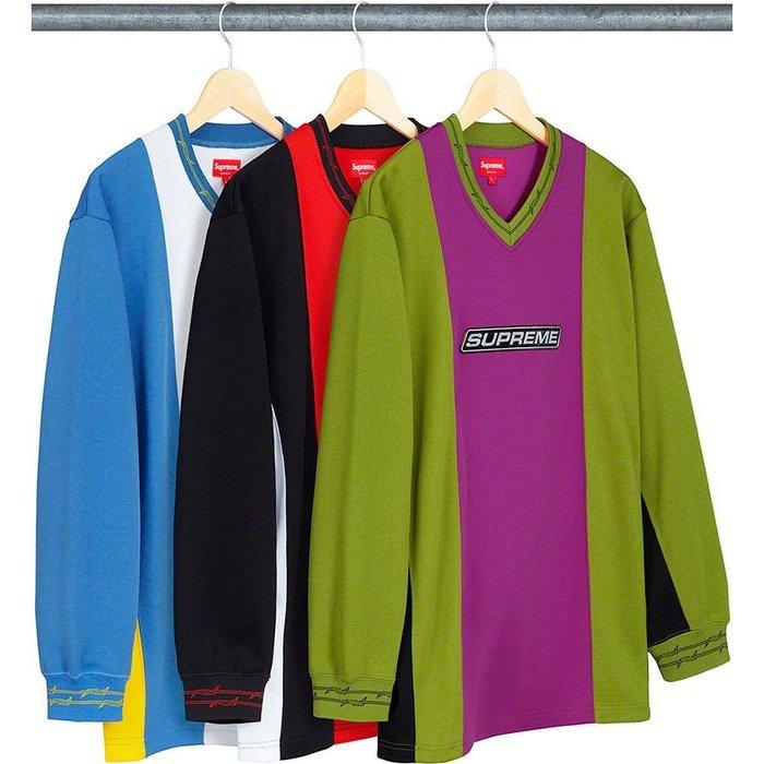 【美國鞋校】預購 Supreme SS19 Barbed Wire Moto Jersey 球衣
