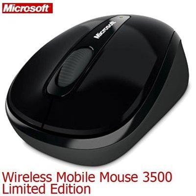 【MR3C】含稅附發票 Microsoft微軟 無線行動滑鼠 3500 (BlueTrack技術) 4色可選