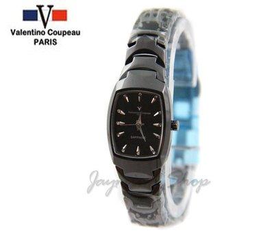 【JAYMIMI傑米】Valentino范倫鐵諾古柏精密陶瓷腕錶-藍寶石鏡面-防水 特價2300 小
