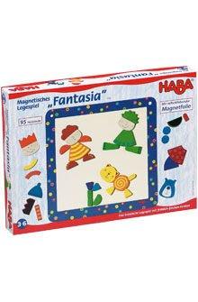 全新HABA幻想曲Fantasia木製磁鐵拼板拼圖 德國製造 無毒安全積木