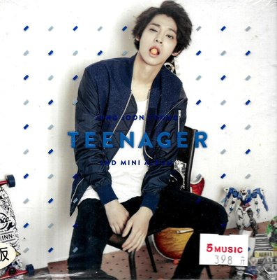 鄭俊英Jung Joon Young / Teenager CD+DVD(全新未拆封)
