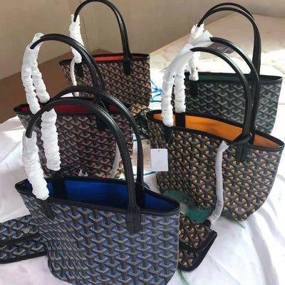 Goyard包手提袋購物袋 牛皮