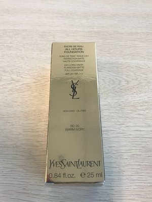YSL ALL HOURS FOUNDATION SPF 20/PA+++ 恆時啞緻粉底液