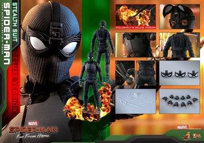 Hottoys 次日訂單 Spider-Man - 1/6th scale Spider-Man Figure (Deluxe Version)
