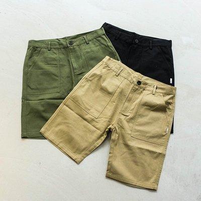 【車庫服飾】SHADOW 19SS BASIC SHORTS 水洗休閒短褲