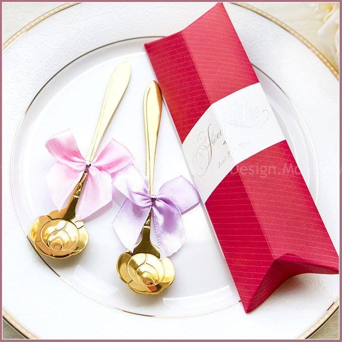 【Sweet Love Pink盒玫瑰湯匙二入禮盒】-婚禮小物/桌上迎賓禮/姊妹禮/送客禮/二次進場/贈品