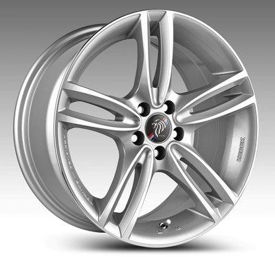 ╭☆輪鋪☆╯ (DP341) 17吋5孔120 BMW E46/E90/F10/F20/F30/MINI 銀車面鋁圈