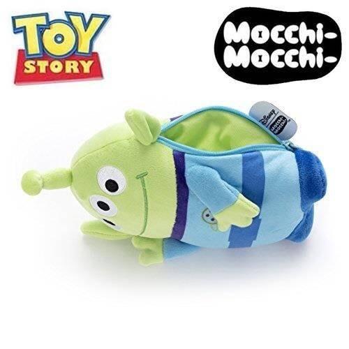 【傳說企業社】日本直送 正版授權 玩具總動員 Mocchi Mocchi 三眼怪娃娃萬用包 置物 收納
